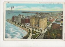 The Drake Hotel Chicago USA 1927 Postcard 941a