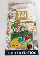 Disney Pin Mad Hatter Mad Tea Party 40th Anniversary WDW Alice in Wonderland