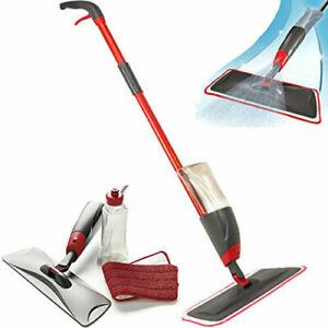 Scopa Spray Mop set lava pavimenti con panno microfibra e vaschetta detergente