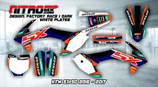KTM Graphics Kit Decal Design Stickers SX 50 2016 - 2017 16 - 17 Motocross MX