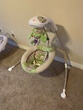 Fisher Price Rainforest Baby Cradle N Swing