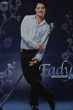 FADY MAALOUF - A3 Poster (ca. 42 x 28 cm) - DSDS Clippings Fan Sammlung NEU