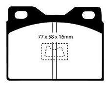DP2220 EBC Greenstuff Pastillas de Freno Frontales Para Audi CHRYSLER (GB)