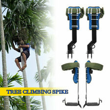 Tree/Pole Climbing Spike Safety Belt Straps Lanyard Rope Rescue Adjustable Tool