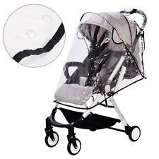 EVA Universal Baby Infant Stroller Pram Buggy Rain Cover Pushchair Wind Shield