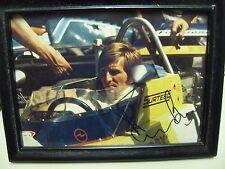 Rare 1974 F1 Champ Derek Bell Signed Photo- Hockenheim- in The Surtees Ford