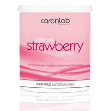 Caron Caronlab Strawberry Creme Strip Wax Microwaveable Waxing Hair Removal 800g
