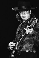 154095 Stevie Ray Vaughan Music Star Art Decor Wall Print Poster UK