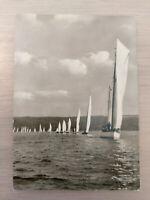 Postkarte Segelschiffe Diessen am Ammersee gelaufen