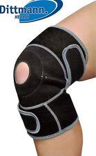 Kniebandage Universalgröße Stützbinde Klettverschluss Sport Knieschoner