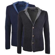 Cardigan Conte of Florence con bottoni manica lunga maglia maglione lana Rio 2.0