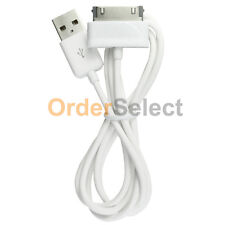 """White USB Fenzer Sync Charger Cable for Samsung Galaxy Tab Tablet 1 2 Plus 7.0"""""""