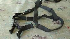 Canac Harness Dog Harness Size 4 25mm Black/grey