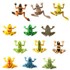 24pcs Delicate Pvc Durable Frog Shape Toys Playthings For Home Decor Children