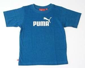Puma Signature Teal Short Sleeve Tee T Shirt Little Boy Size 4 NWT