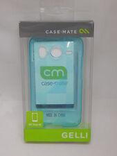 Case-Mate Gelli Flexible Case for HTC Desire HD / Inspire 4G Blue NEW in Box