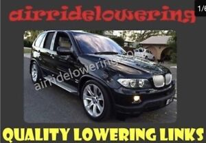 BMW X5 / X6, 5 & 7 Series (Rear Only) Fully Adjustable Lowering Links (2 Links)