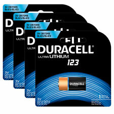 6 Pack - Duracell Coppertop Ultra Lithium 123 Battery