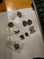 ASSORTED VINTAGE CANADIAN LAPEL PINS - Includes Queen Elizabeth 25+50 year pins