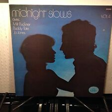 MILT BUCKNER - Midnight Slows Vol. 4 ~ BLACK & BLUE 333.068 {nm} [SIGNED] ->RARE