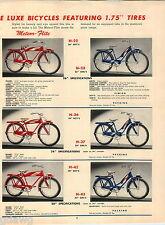 1957 ADVERT 9 PG Murray Bicycles Trato Flite Super Spring Fork Meteor Flite