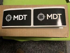 "MDT (Modular driven technologies) 2""x3.5"" Stickers (2pcs)"