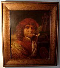 Barock Portrait Maler im Atelier Öl Holz Städt Museum Aachen nach Fabricius 1660