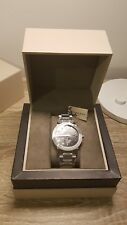 BURBERRY BU9901 THE CITY SILVER TONE SWISS MADE SAPPHIRE CRYSTAL 42mm MENS WATCH