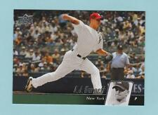 A.J. BURNETT   2010 UPPER DECK  # 353  PITCHER   NEW YORK YANKEES   BASEBALL