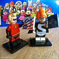 LEGO 71012 Minifigures DISNEY SERIES MR. INCREDIBLE #13 & SYNDROME #14 SEALED