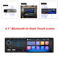 4.1 inch Touch screen dual USB car 12V Bluetooth MP3 player card radio In Dash
