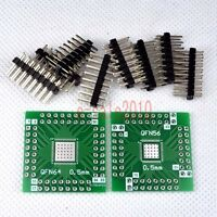 5pcs NEW QFN64 QFN56 SMD to DIP 56 Adapter PCB Board Converter Double Sides E14