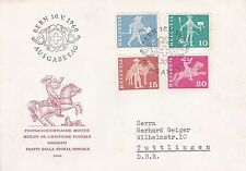 Switzerland 1960 Definitive Issues FDC VGC