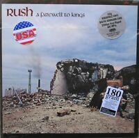 "Rush ""A Farewell To Kings"" REMASTERED 180 Gram Vinyl LP GATEFOLD & Download"