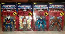 Brand New Super7 MOTU VINTAGE wave 1 set (4) He-Man Skeletor Hordak She-Ra 🔥🔥