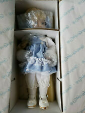 The Hamilton Collection 1993 Porcelain Doll w/Stand Cynthia By Phyllis Parkins