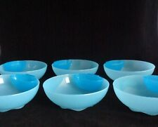 FREE SHIP Tupperware Dipper Bowls Set of 6 salad dessert snack Open House NEW