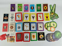 Games Workshop - Vintage 90s Warhammer Magic Fantasy Battle Game Cards Bundle