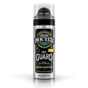 INK-EEZE Tattoo Products Ink Guard Spray On Bandage 1.35 oz. NEW
