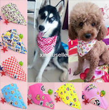 Factory Lot 100 Pcs Cotton Dog Bandana Tie on Puppy Pet Necktie  Scarf Grooming