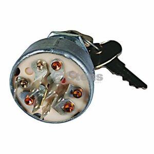 John Deere 657 661 667, Quik-Trak, Ztrak, EZtrak, Ignition Switch w/Key TCA22740