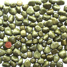1 X VESUVIANITE IDOCRASE Tumblestone GEMSTONE Stone of Support Crystal