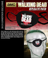 THE WALKING DEAD THE GOVERNOR'S EYE PATCH SDCC 2013 EXCLUSIVE ~BRAND NEW~
