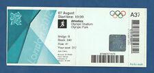 Orig.Ticket   Olympische Spiele LONDON 2012 - Leichtathletik 07.08./ 4 Finals !!