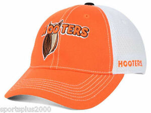 Hooters Ruckus Elite Mesh Stretch Fit Cap Hat ~ L/XL Sizes 7-3/8 up to 8  ~ New!