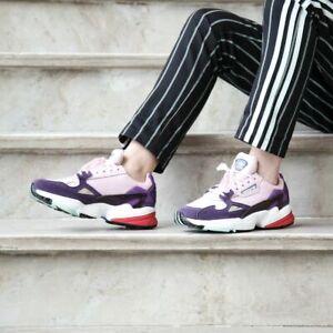 Size 8.5 Women's adidas Originals Falcon Sneakers BD7825 Pink/Purple