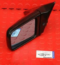 Mercedes Benz SL R 129 Driver Side Mirror Assembly Black 1298101316