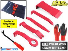Adorno De Plástico De 6 piezas de Coche Puerta Panel Dash instalación Kit de herramienta de eliminación de palanca