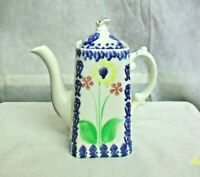 @AC-CH SCOTLAND BRITANNIA POTTERY CO. LTD (B.P. CO.) SCOTCH IVORY TEAPOT PITCHER