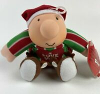"Ziggy Christmas Doll Plush 7"" I Love You Reindeer Slippers 1991 Stuffed Animal"